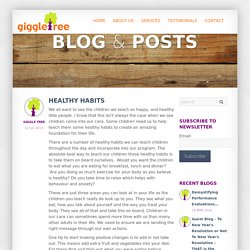 Giggletree - Healthy Habits