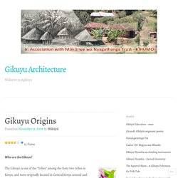Gikuyu Architecture