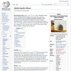 Abdul-Qadir Gilani