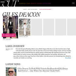 Giles Deacon - Designer Fashion Label