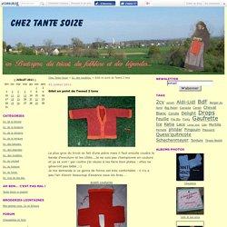 Gilet en point de Tweed 2 tons - Chez Tante-Soize