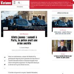 Gilets jaunes : samedi à Paris, la police avait une arme secrète