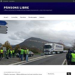 Gilets jaunes : République qui en porte que le nom - PÅnsons libre