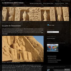 Gilgamesh « A la recherche des vérités perdues !