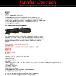 Gilgamesh Shipyards - Traveller Downport