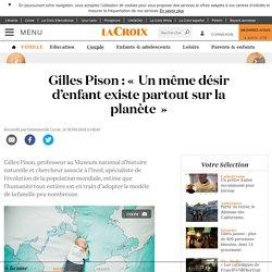 Gilles Pison : «Un même désir d'enfant existe partout sur la planète»