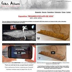 Gilles AZZARO - Sculpteur de Voix / Regards d'Eclats de Voix