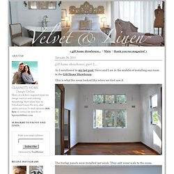 gilt home showhouse: part 1... - Velvet & Linen