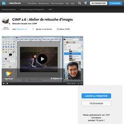GIMP 2.6 : Atelier de retouche d'images