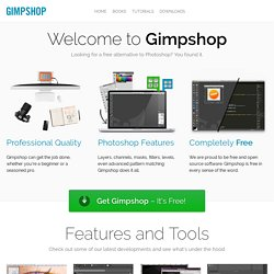 GIMPshop.com - A GIMP hack by Scott Moschella