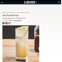 Gin-Free and Tonic Cocktail Recipe