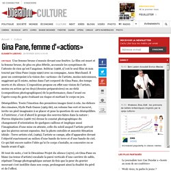Gina Pane, femme d'«actions»