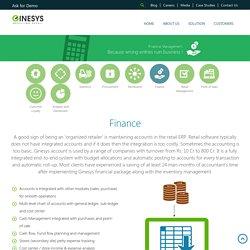 Retail ERP Finance