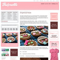 Gingerbreads Heads & bakerella.com - StumbleUpon