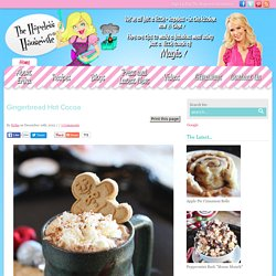 Gingerbread Hot Cocoa - The Hopeless Housewife®