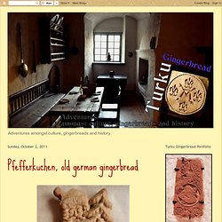 Pfefferkuchen, old german gingerbread