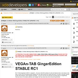 VEGAn-TAB GingerEdition STABLE RC1 [UPDATED - 4/11]