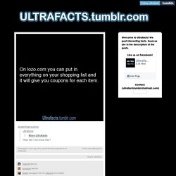 gingerlingeraudrey: ultrafacts:  More...