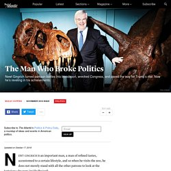 How Newt Gingrich Destroyed American Politics