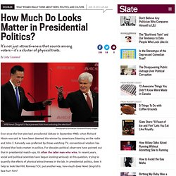 Mitt Romney vs. Newt Gingrich: How much do looks matter in presidential politics?