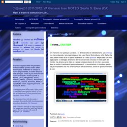 Cl@sse2.0 2011/2012: liceo MOTZO Quartu S. Elena (CA)