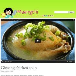 Ginseng chicken soup (Samgyetang) recipe