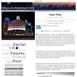 Ginza Wako: 4-5-11 Ginza, Tokyo, Kanto,