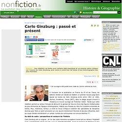 Carlo Ginzburg : passé et présent