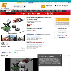 Giochi Preziosi Fly Wheels Lanceur Twin Turbo avec Roue - Autre jeu de plein air