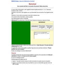 Il gioco Marienbad, una variante del Nim