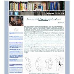 André Giordan - Les conceptions de l'apprenant