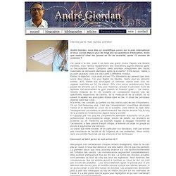 André Giordan Interview par M. Huet, Eureka, Libération