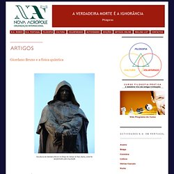 Giordano Bruno e a Física Quântica