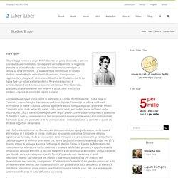 Giordano Bruno – Liber Liber