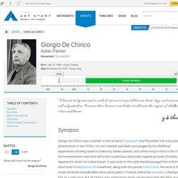 Giorgio De Chirico Biography, Art, and Analysis of Works