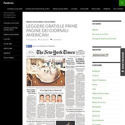 Blog Archive » Leggere gratis le prime pagine dei giornali ameri