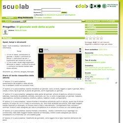 Progetto: Il giornale web della scuola (italiano, giornalino online, telegiornale, web-tv)