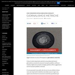 Giornalismo e metriche