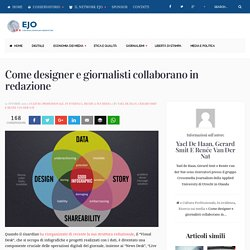 Come designer e giornalisti collaborano in redazione