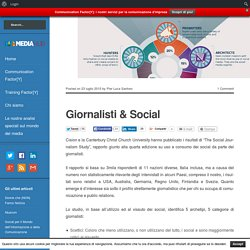 Giornalisti & Social