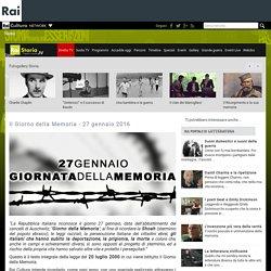 Il Giorno della Memoria - 27 gennaio 2016 - Rai Storia - 1