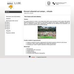 Scuola Digitale Indire: Giovani urbanisti sul campo... virtuale