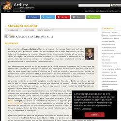 Giovanni Boldini : Toutes les oeuvres