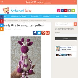 Hearty Giraffe amigurumi pattern - Amigurumi Today