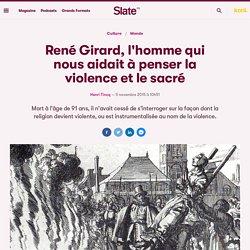 La violence et le sacré