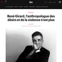 Décès René Girard Télérama