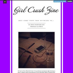 Girl Crush Zine