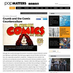 No Girls Allowed!: Crumb and the Comix Counterculture