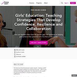 Girls' Education - Free online course