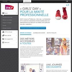 « Girls' day », pour la mixité professionnelle